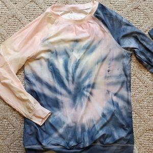Tie dye Activewear top
